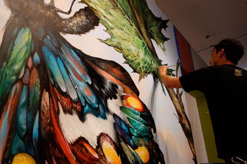 art exhibition vitality and verve transforming the urban landscape long beach california 37 - Museu de arte permitiu que artistas desenhassem em suas paredes