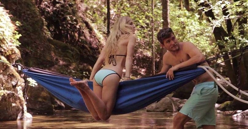 nature outdoor hot tub hydro hammock benjamin frederick 18 - Banheira estilo rede