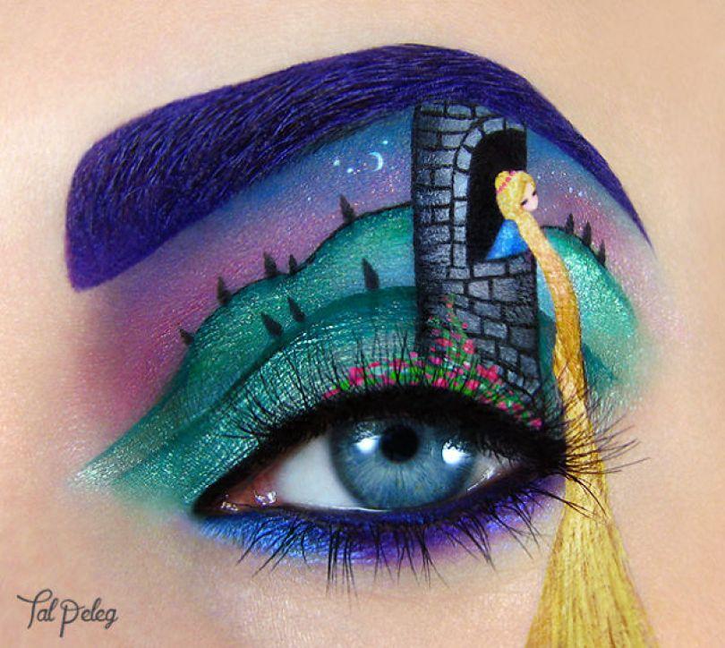 maquiagem-olho-da-pálpebra-arte-desenhos-tal-peleg-israel-15