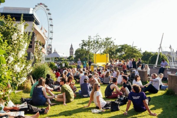 roof garden cafe bar queen elizabeth 14 of the Oddest Secret Sights London Has to Offer