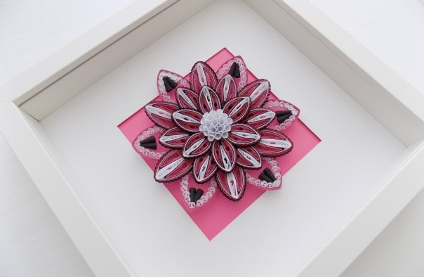 Floral Home Decor Ornament