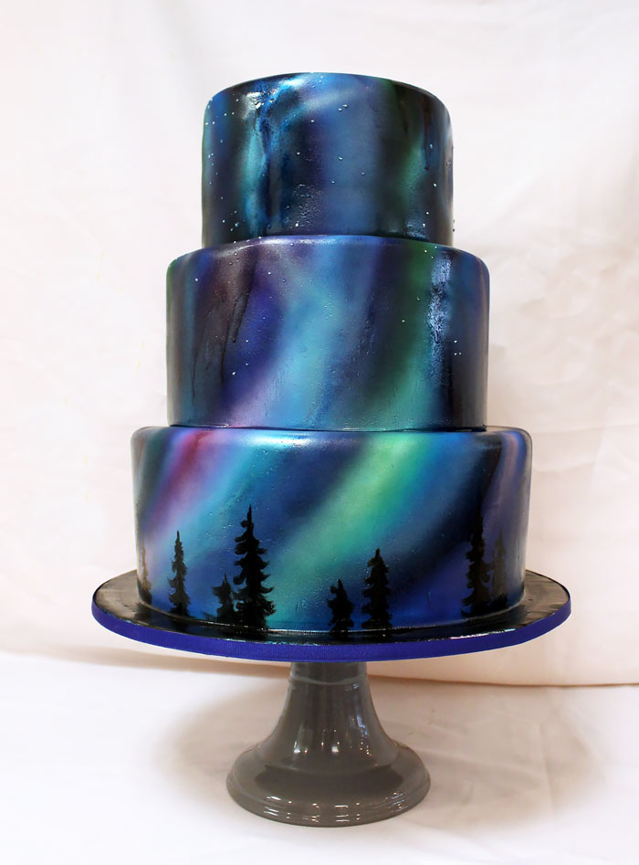 10 Space Cakes Galaxy Sweets And Other Otherworldly