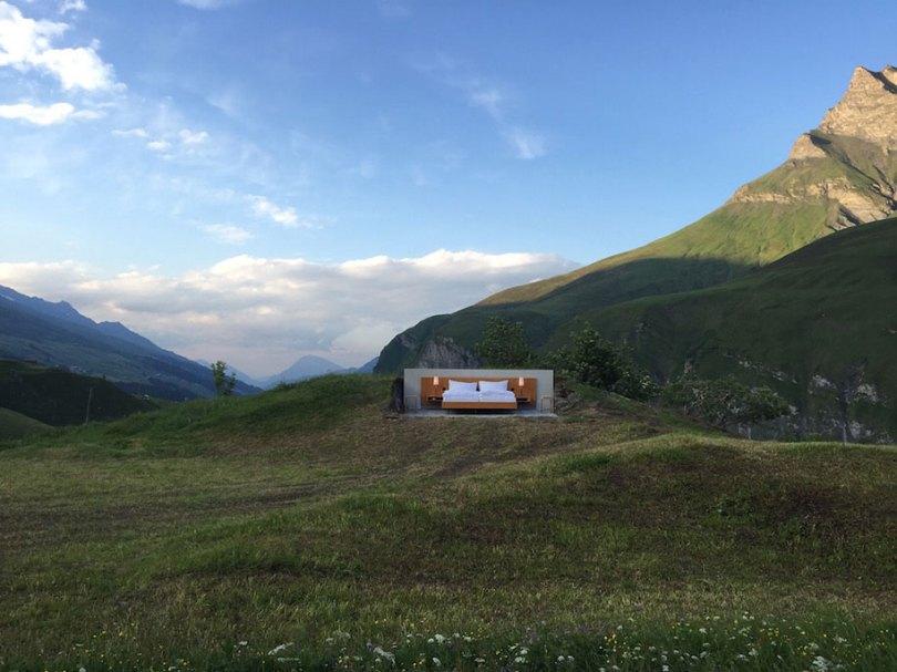 montanha-cama-suite-suíço-Alpes-nulo-stern-hotel-2