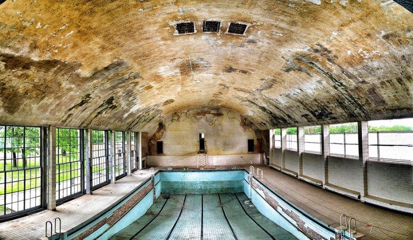 Abandonados - locais olímpicos - urbanos - decadência - 26