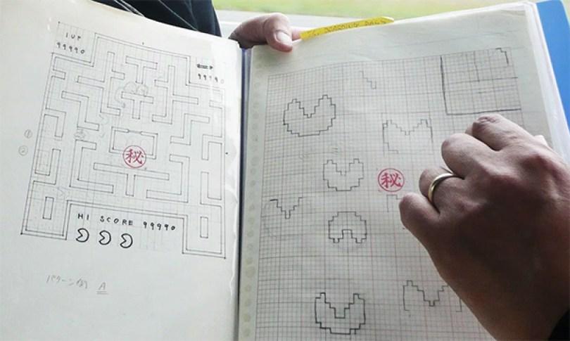 pac-man-original-desenhos-toru-iwatani-1