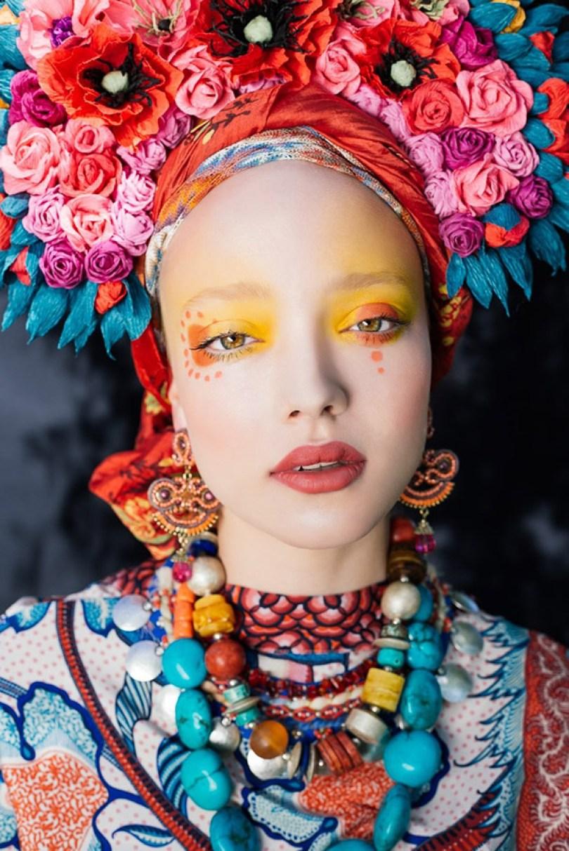 polish slavic wreaths folklore ula koska beata bojda 1 - Mulheres e as coroas florais tradicionais de seu país