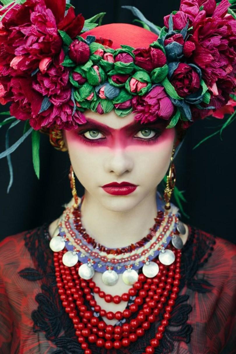 polish slavic wreaths folklore ula koska beata bojda 7 - Mulheres e as coroas florais tradicionais de seu país