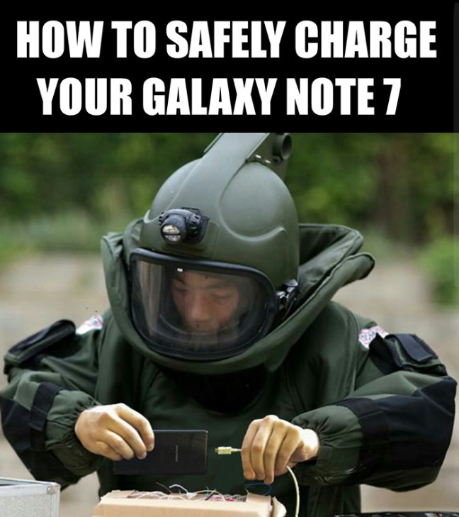 samsung-galaxy-note-7-exploding-funny-reactions-10 10 Funniest Reactions To The (Again) Exploding Samsung Note 7 Technology