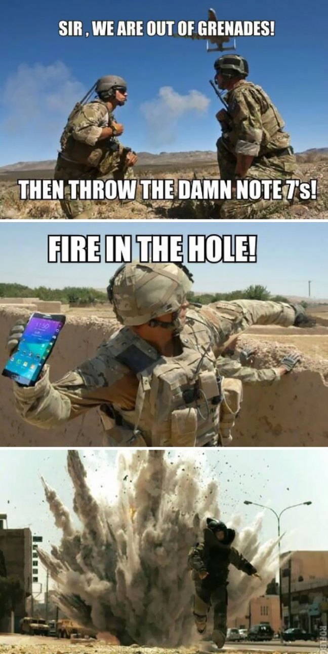 samsung-galaxy-note-7-exploding-funny-reactions-7 10 Funniest Reactions To The (Again) Exploding Samsung Note 7 Technology