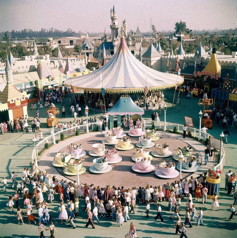 disneyland opening day 1955 19 - Dia de abertura da Disneylândia em 1955