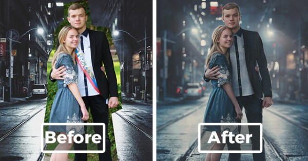 This Russian Photoshop Master Combines Any 2 Photos Into 1