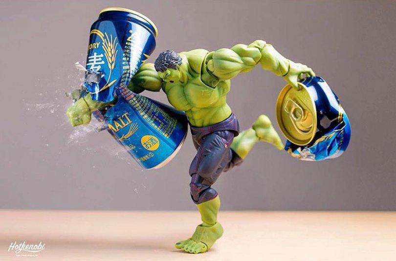 action toys scenes hotkenobi 2 - Brinquedos de ação ganham vida em imagens