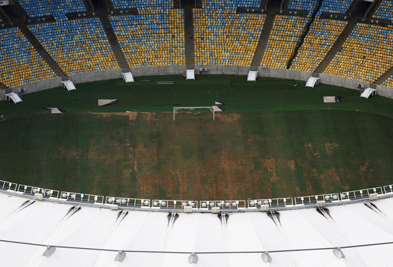 maracana olympic facilities fall apart urban decay rio 2016 16 1 - Como ficou o complexo olímpico do Rio 2016 após o evento?