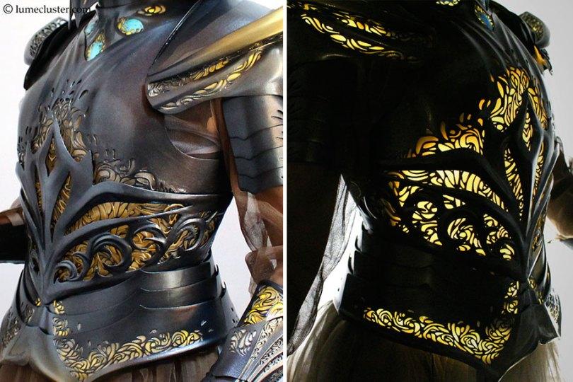 3d printed fantasy armor cosplay melissa ng 6 - Fantasia de armadura feito em 3D é o sonho de todo cosplay
