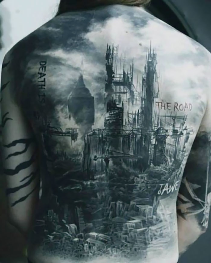 10 Best Architectural Tattoos That Will Make You Want One
