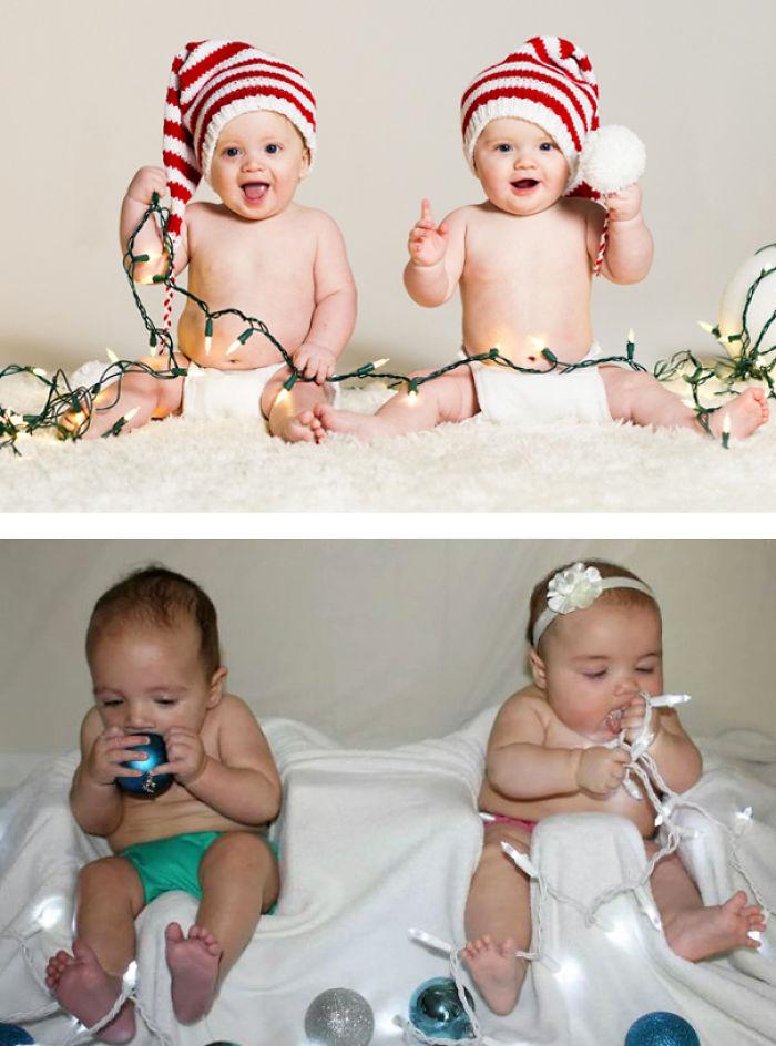 59e0b27c1555a baby photoshoot expectations vs reality pinterest fails 23 577f9028c81a0  700 - Tirar foto de bebê não é nenhum pouco fácil