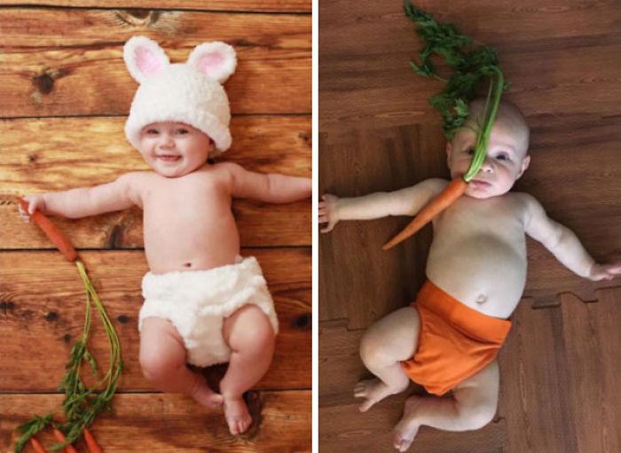 59e0b28ecfdc9 baby photoshoot expectations vs reality pinterest fails 02 577f9c64a8a3e  700 - Tirar foto de bebê não é nenhum pouco fácil