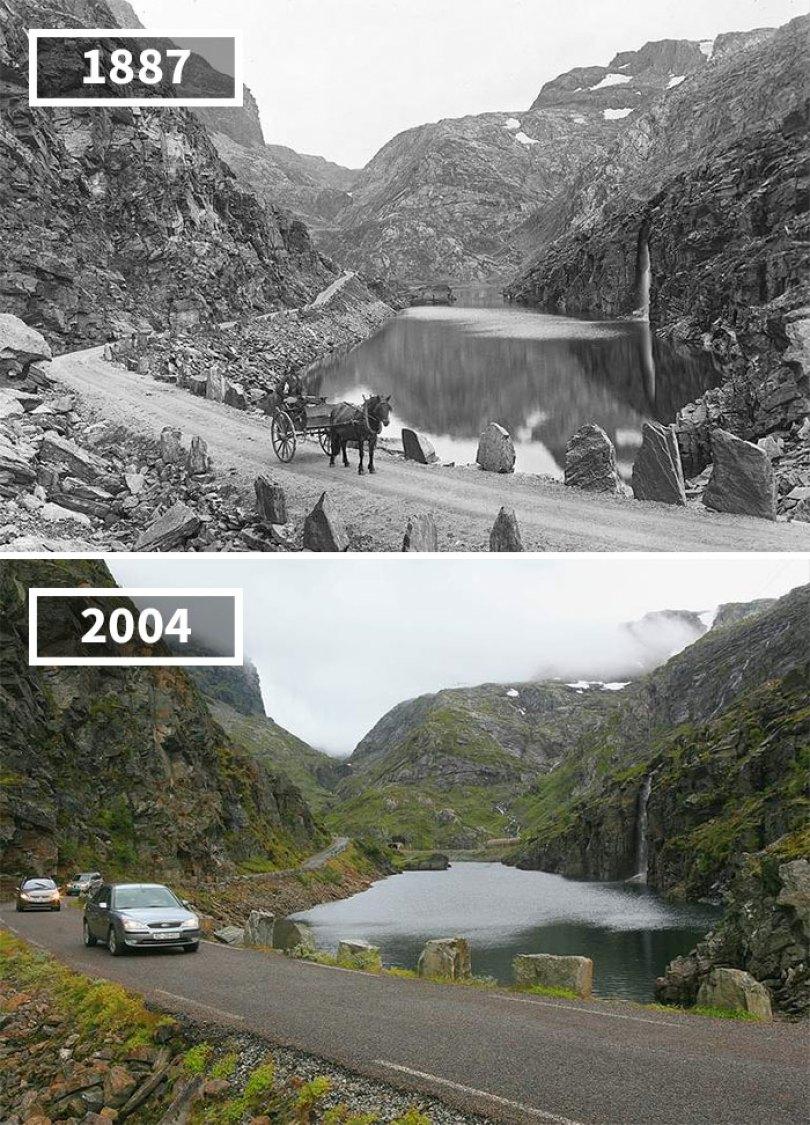 5a0eab5246fa1 then and now pictures changing world rephotos 1 5a0d61d5474e7  700 - A transformação das cidades ao longo do tempo