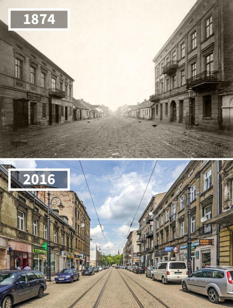 5a0eab568efb2 then and now pictures changing world rephotos 103 5a0d6a939f9d0  700 - A transformação das cidades ao longo do tempo