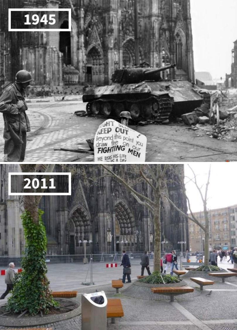 5a0eab593a66c then and now pictures changing world rephotos 45 5a0d845ad050a  700 - A transformação das cidades ao longo do tempo