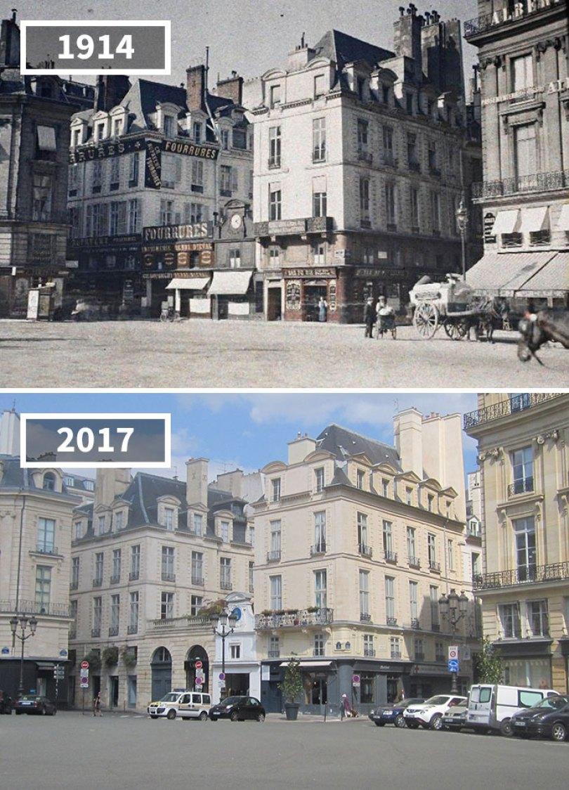 5a0eab5be8e50 then and now pictures changing world rephotos 12 5a0d6e235592b  700 - A transformação das cidades ao longo do tempo