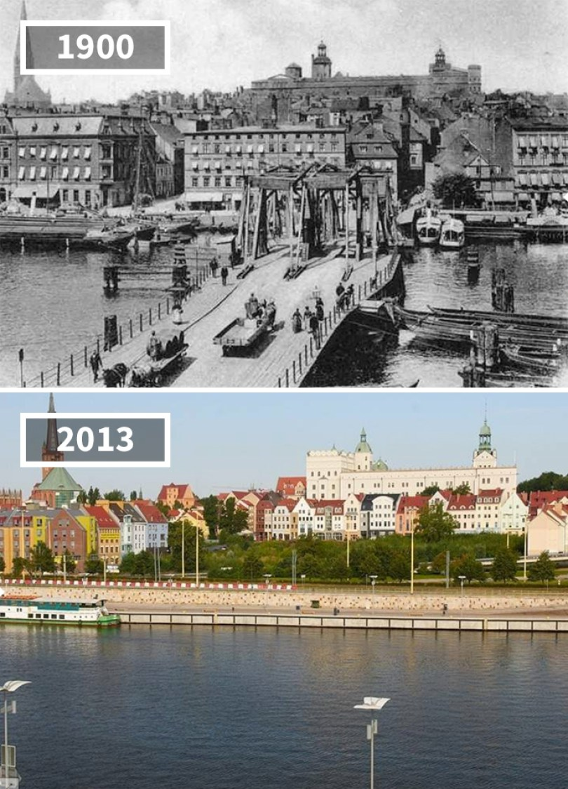 5a0eab5cc1345 then and now pictures changing world rephotos 34 5a0d6d5580b21  700 - A transformação das cidades ao longo do tempo