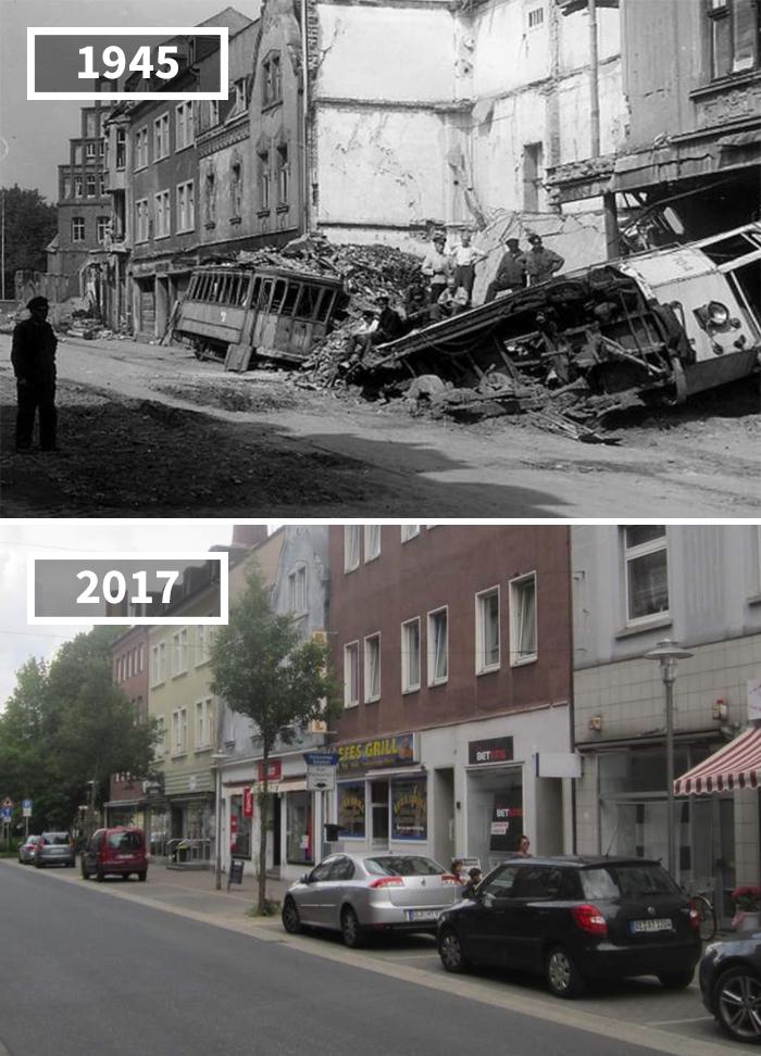 5a0eab5fd6933 then and now pictures changing world rephotos 40 5a0d6e523230c  700 - A transformação das cidades ao longo do tempo