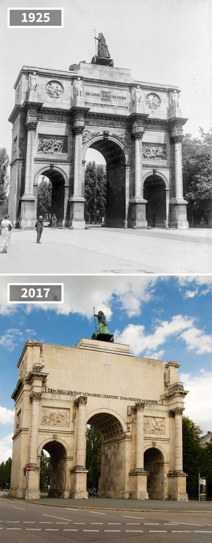 5a0eab6222b54 then and now pictures changing world rephotos 14 5a0d6fd050639  700 - A transformação das cidades ao longo do tempo