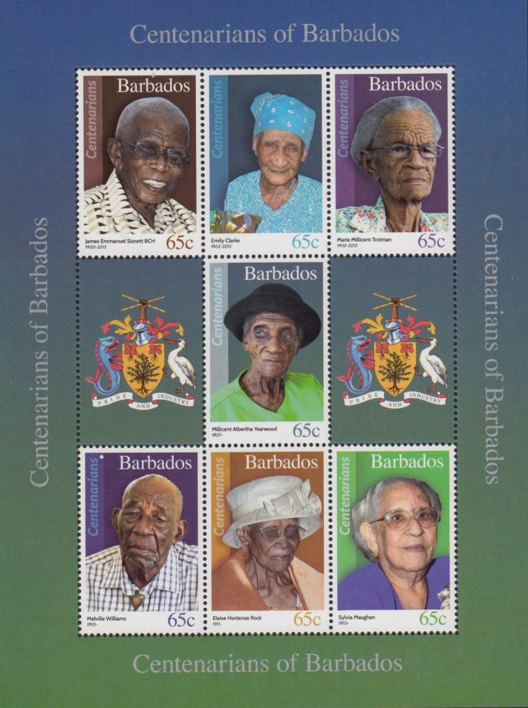Scan-561-763x1024 Portraits Of 100-Year-Old Citizens Of Barbados Were Printed On Postal Stamps To Celebrate Their Impressive Anniversaries Random