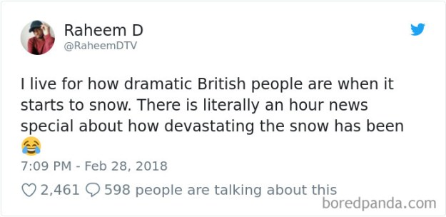 5a9d484044664-968926194019307521-png__700 Internet Reacts To Brits Panicking Over A Little Snow In A Very Creative Way Random