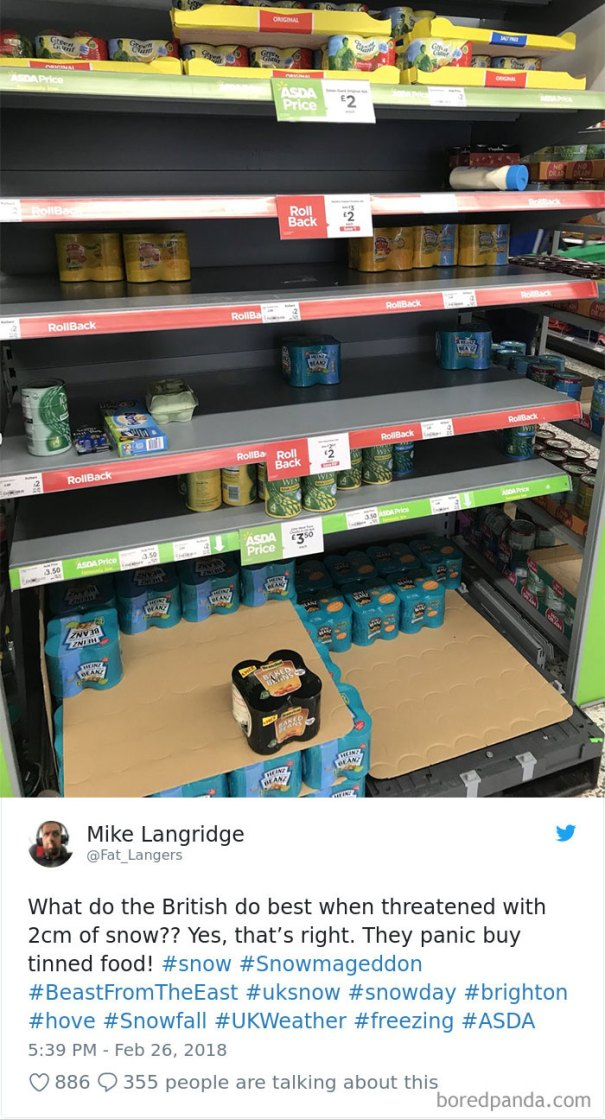 5a9d48406d5a9-snow-uk-panic-twitter-reactions-10-5a9951041d3ab__700 Internet Reacts To Brits Panicking Over A Little Snow In A Very Creative Way Random