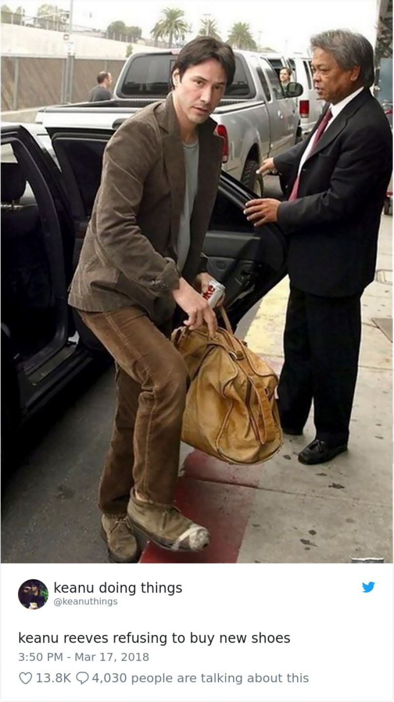 5abe1c072ade5 975036646386274304 png  700 5abc89b0302fa  700 - Por que Keanu Reeves tímido e introvertido é tão popular na Internet?