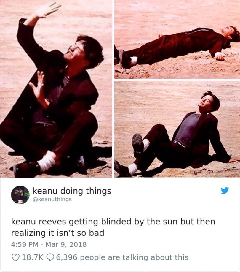 5abe1c0b48ea8 972154993418514432 png  700 5abc8e98aff9c  700 - Por que Keanu Reeves tímido e introvertido é tão popular na Internet?