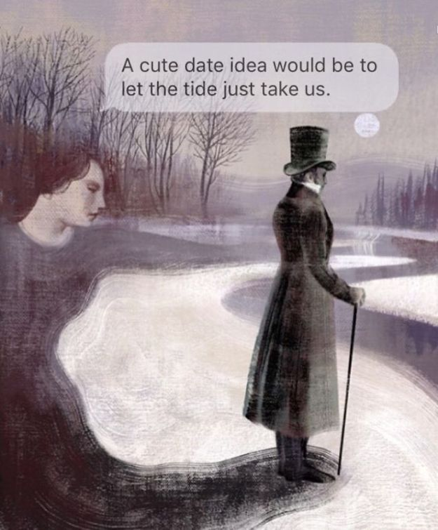 5ad9cf6739e89-classical-art-dark-humor-april-eileen-henry-texts-from-your-existentialist70-5ad6f22be1acd__700 The Darkest Instagram Account Will Satisfy Your Inner Pessimist Random