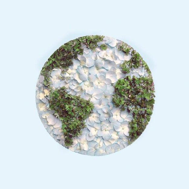 organizing-the-circle-series-kmsalvagedesign-kristen-meyer-8 Artist Arranges Everyday Objects To Make Perfect Art Pieces Art Random