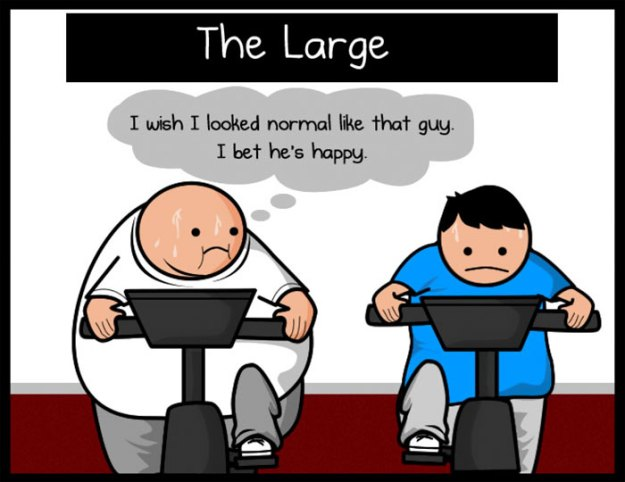 5b31ee2948e03-funny-gym-comics-oatmeal-matthew-inman-5b2cf3d2e456b__700 Artist Perfectly Sums Up The Types Of People In The Gym, And You'll Definitely Relate To The Boobie Girl Random