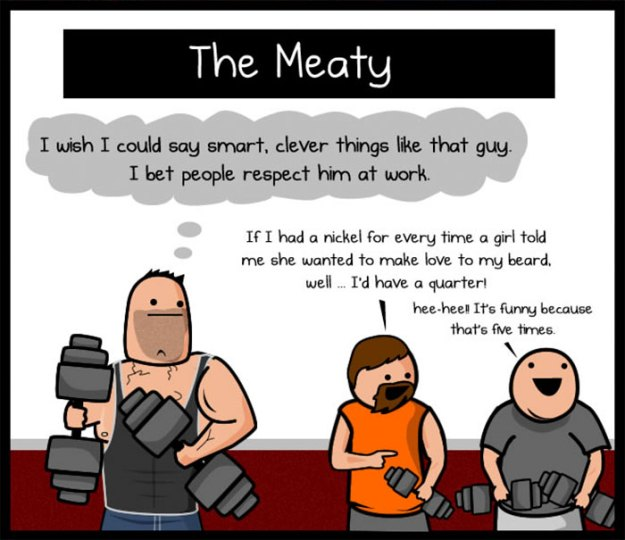 5b31ee2a32bb0-funny-gym-comics-oatmeal-matthew-inman-5b2cf3b844197__700 Artist Perfectly Sums Up The Types Of People In The Gym, And You'll Definitely Relate To The Boobie Girl Random