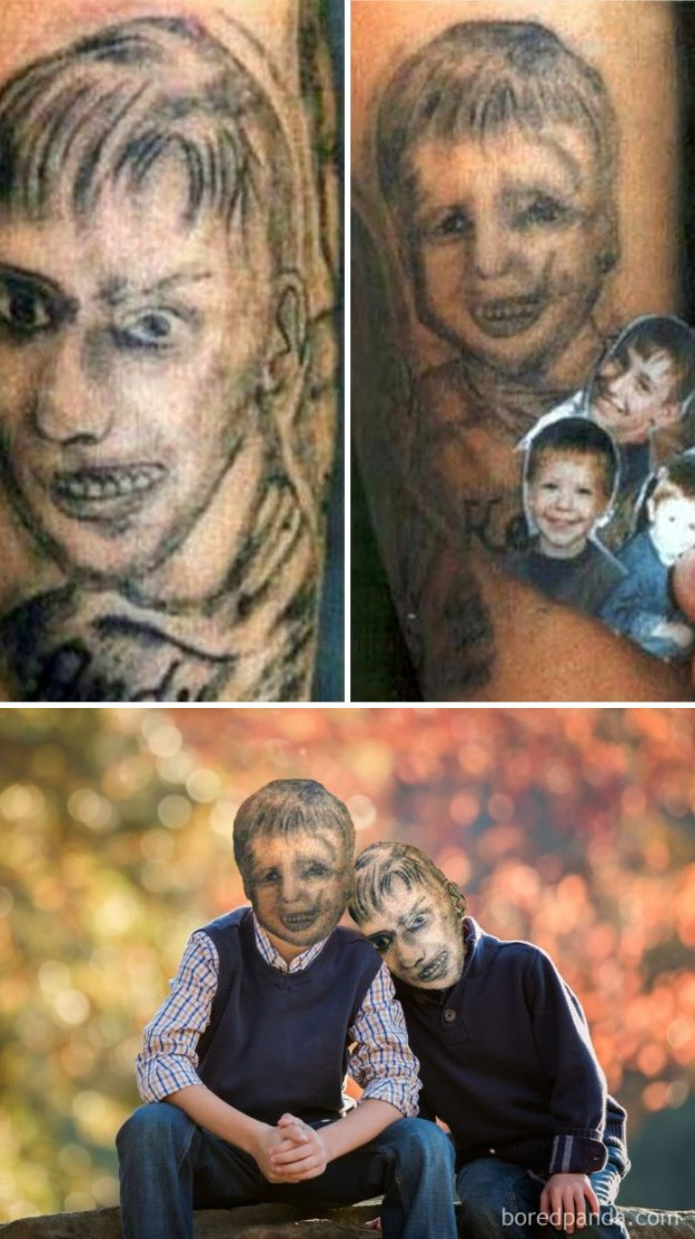 5b35de554916c-funny-tattoo-fails-face-swaps-79-5b3382928c049__700 We Face Swapped 20+ Tattoos To Show How Bad They Really Are, And Angelina Jolie Is Not As Sexy As We Remember Random