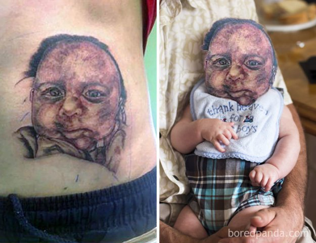 5b35de557f13d-funny-tattoo-fails-face-swaps-65-5b332dd108957__700 We Face Swapped 20+ Tattoos To Show How Bad They Really Are, And Angelina Jolie Is Not As Sexy As We Remember Random