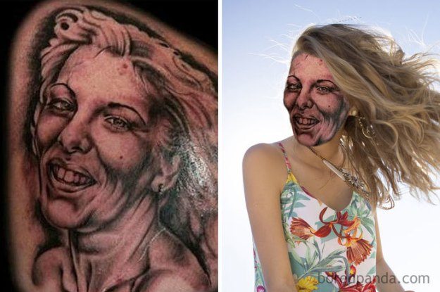 5b35de5d97e57-funny-tattoo-fails-face-swaps-68-5b333e1b24c8f__700 We Face Swapped 20+ Tattoos To Show How Bad They Really Are, And Angelina Jolie Is Not As Sexy As We Remember Random