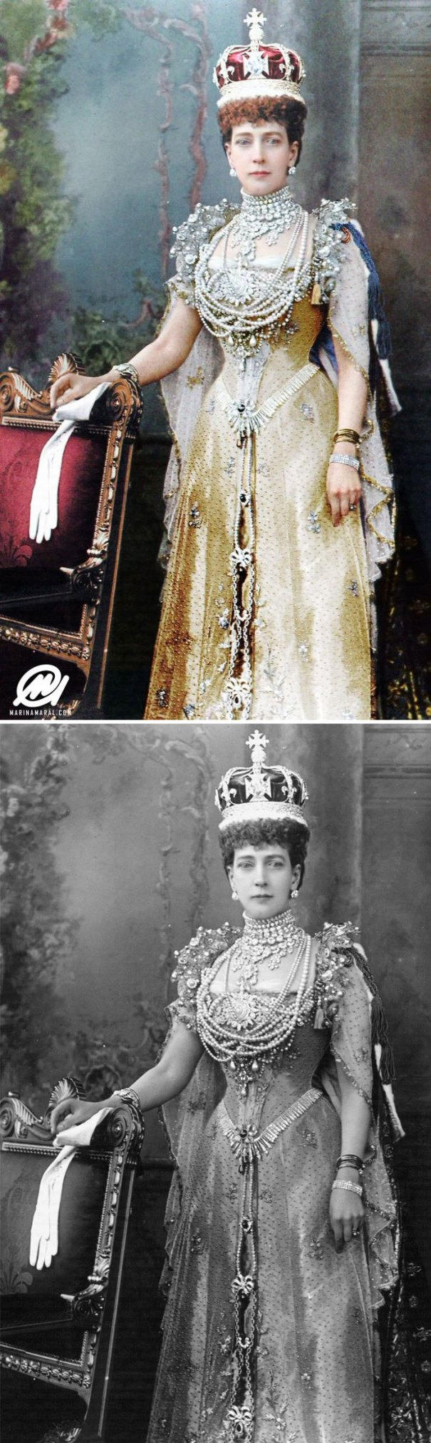 5b6d3b6f21821-colorized-historic-photos-marina-amaral-119-5b6c3e9d678ba__700 This Artist Colorizes Old Black & White Photos, And They Will Change The Way People Imagine History Photography Random