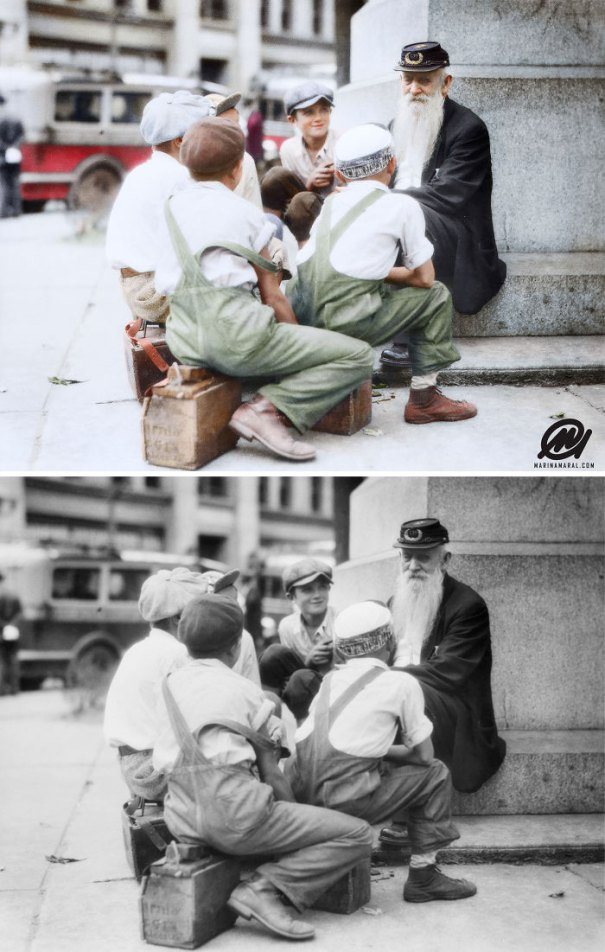 5b6d3b71b8a2a-colorized-historic-photos-marina-amaral-106-5b6c2f030aa50__700 This Artist Colorizes Old Black & White Photos, And They Will Change The Way People Imagine History Photography Random
