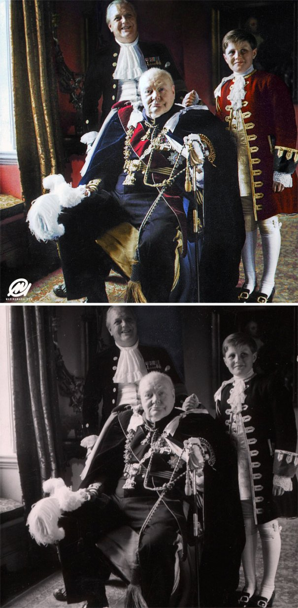 5b6d3b7f4cd13-colorized-historic-photos-marina-amaral-12-5b6acefa19799__700 This Artist Colorizes Old Black & White Photos, And They Will Change The Way People Imagine History Photography Random