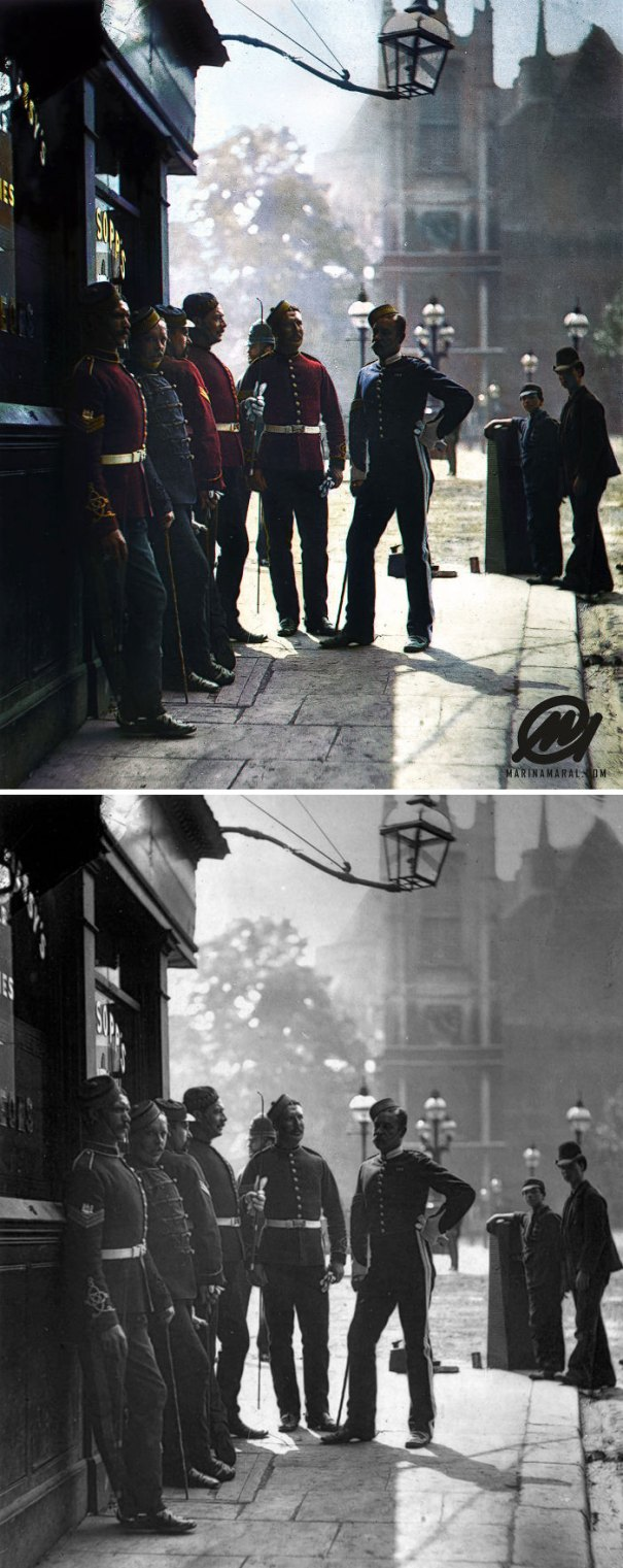 5b6d3b82967e8-colorized-historic-photos-marina-amaral-96-5b6c29428c1ca__700 This Artist Colorizes Old Black & White Photos, And They Will Change The Way People Imagine History Photography Random