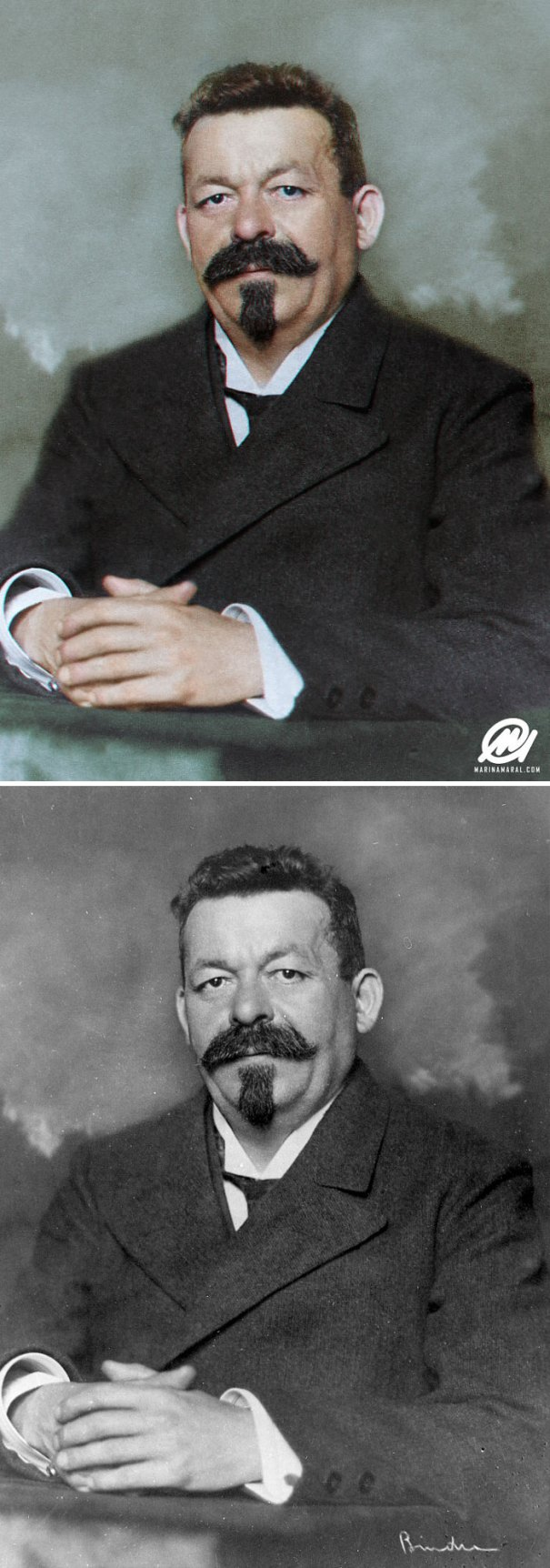 5b6d3b96b2356-colorized-historic-photos-marina-amaral-167-5b6ad7d6ba1df__700 This Artist Colorizes Old Black & White Photos, And They Will Change The Way People Imagine History Photography Random