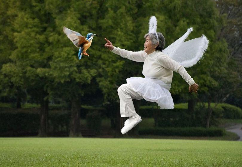 5b72c17696b7c Japanese great grandmother at age 90 continues conquering social networks with her incredible joy of living 5b6ccbdd962c0  880 - Senhora divertida de 90 anos tem mais de 200 mil seguidores no Instagram