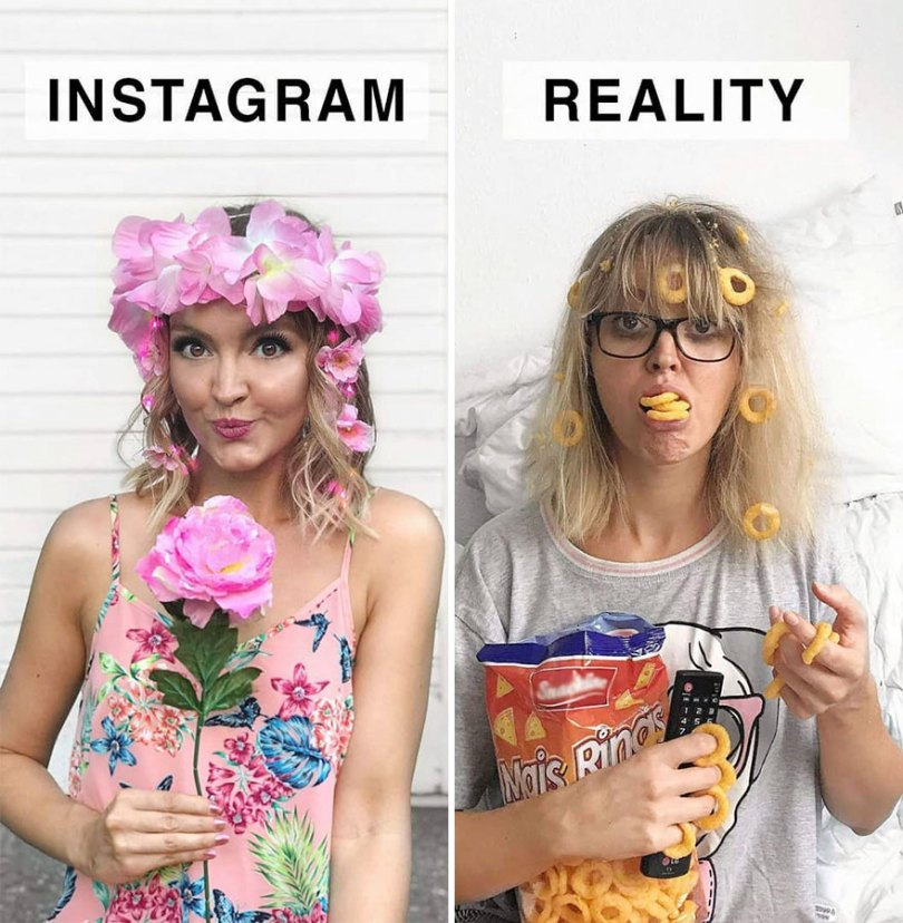 5b976d9b5f146 German shows the reality of perfect instagram photos and the result is a lot of fun 5b8e33d64379e  880 - Instagram: Expectativa x Realidade # Parte 2
