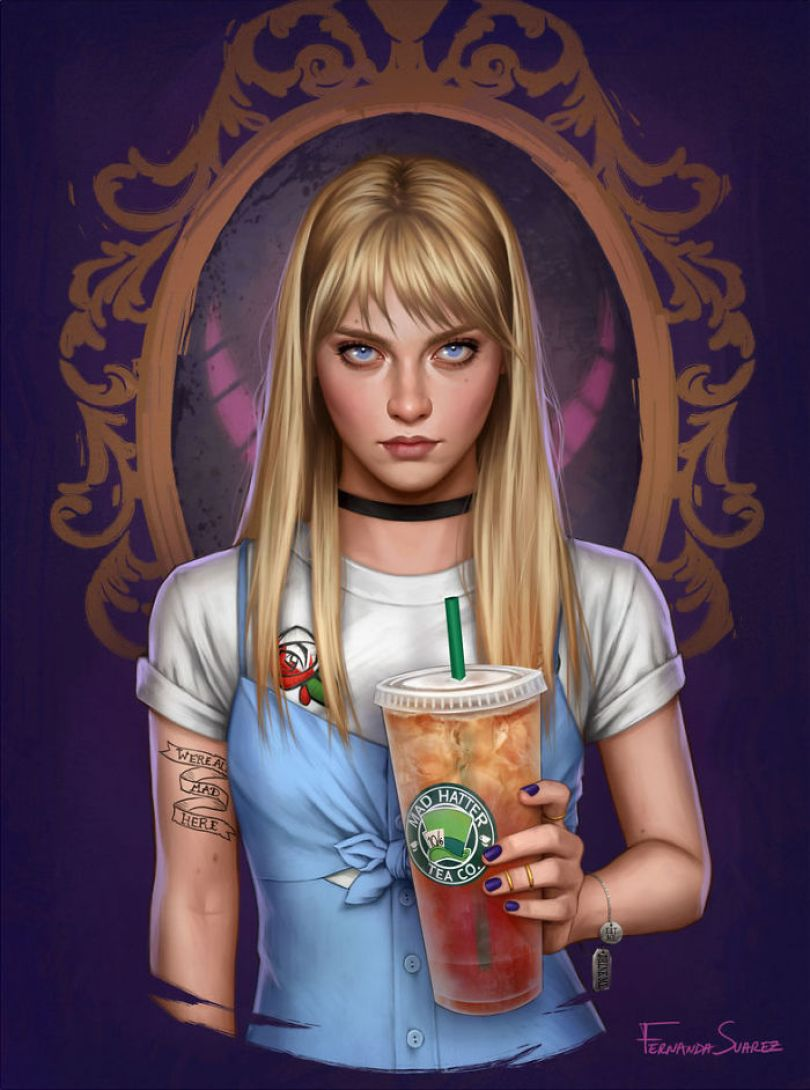 5bb61360935e6 Illustrator Shows How Disney Princesses Would Look Like If They Lived In 2018 And The Result Is Awesome 5bb32645b2360  700 - Illustratora mostra como os personagens da Disney ficariam se vivessem em 2019