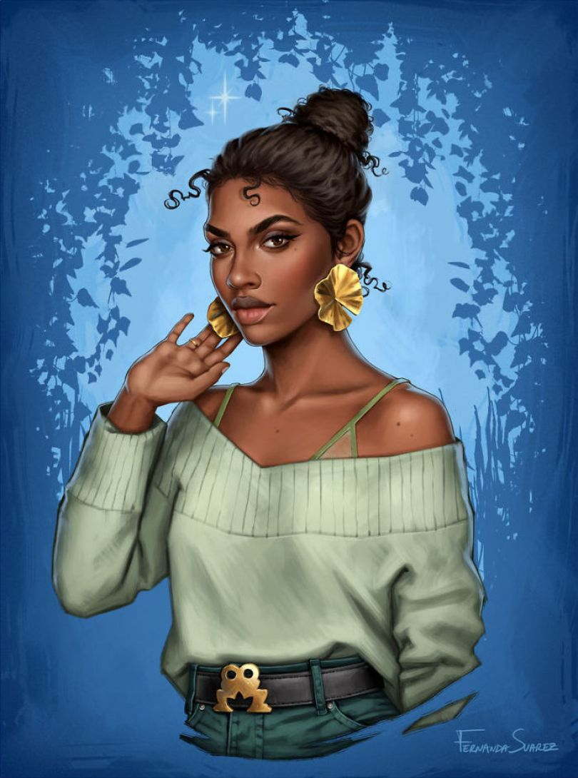 5bb6136231509 Illustrator Shows How Disney Princesses Would Look Like If They Lived In 2018 And The Result Is Awesome 5bb32675bd0ba  700 - Illustratora mostra como os personagens da Disney ficariam se vivessem em 2019