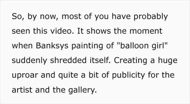 5bc08d9e4b5e6-banksy-painting-girl-with-balloon-shredded-auction-theory-12-5bbefea0b6df7__700 This Guy Noticed Something Doesn't Add Up In Banksy's Shredded Painting, Explains Why It Was FAKE Art Random